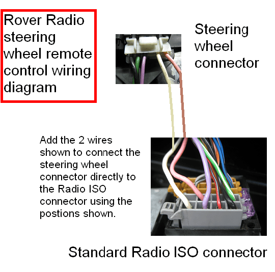 steering wheel radio controls wiring diagram diy