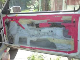 rover metro door plastic sheeting