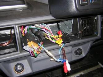 rover metro ISO wiring hardness connected to car loom