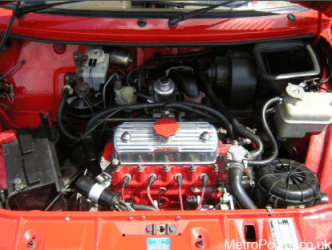 mg metro turbo engine