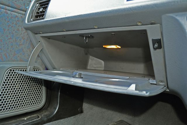 Glove box lamp