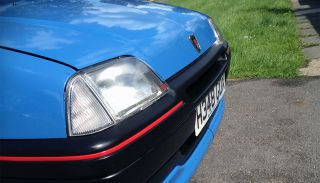 Rover Metro headlamp covers