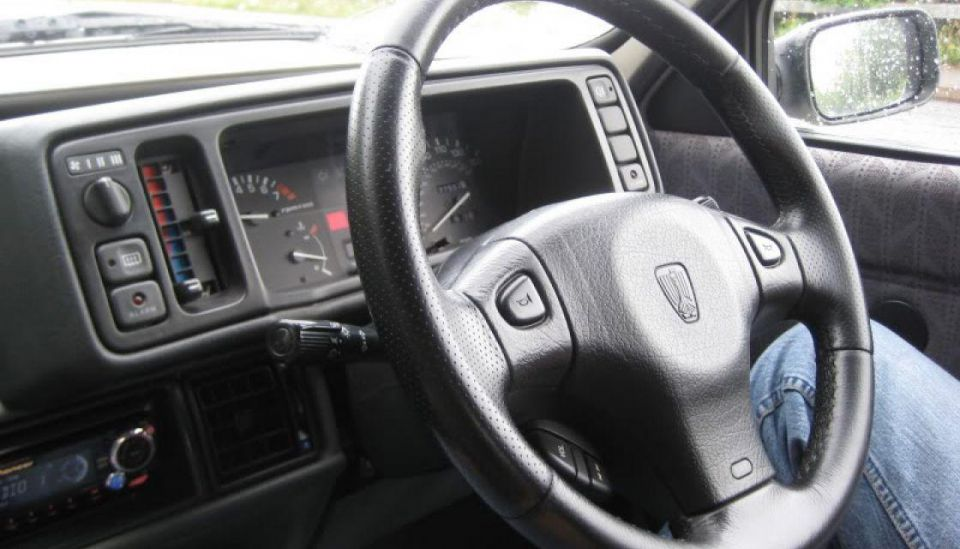 Airbag steering wheel