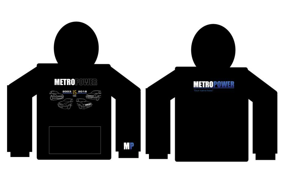MetroPower Hoodie 15th Anniversary Limited Edition