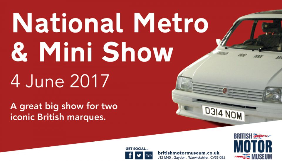 The National Metro & Mini Show 2017