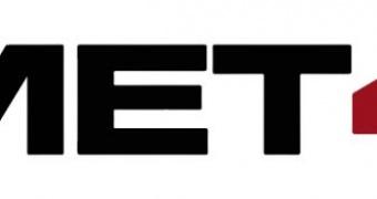 MET40 rear window cling sticker - stripes